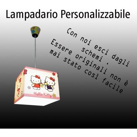 Lampadario Personalizzabile