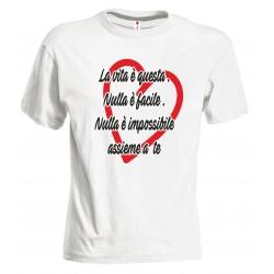 T-shirt La vita è questa