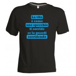 T-shirt Vita specchio