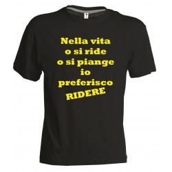 T-shirt Ridere