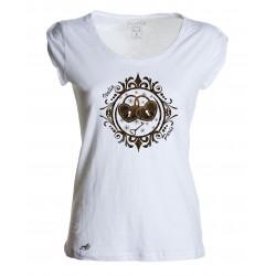 T-shirt Moda donna lucchetti