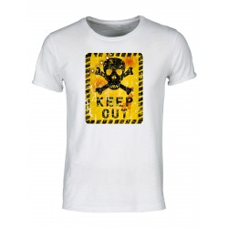 T-shirt Moda Keep out