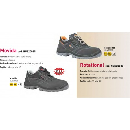 Scarpa Antinfortunistica U POWER Movida & Rotational
