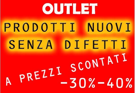 outlet prodotti nuovi a prezzi scontati